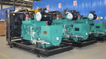 9×350KVA Cummins Gas Engine Generators to Nigeria Oilfields
