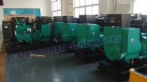 16 Units Cummins Diesel Engine Generator to South Africa