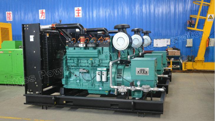 News & Projects-9×350KVA Cummins Gas Engine Generators to