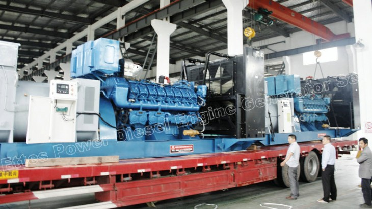 News & Projects-2000KVA High Voltage MWM Diesel Generator Set to Finland