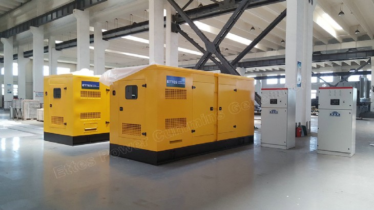 News Amp Projects 16 Units Cummins Soundproof Diesel Gensets