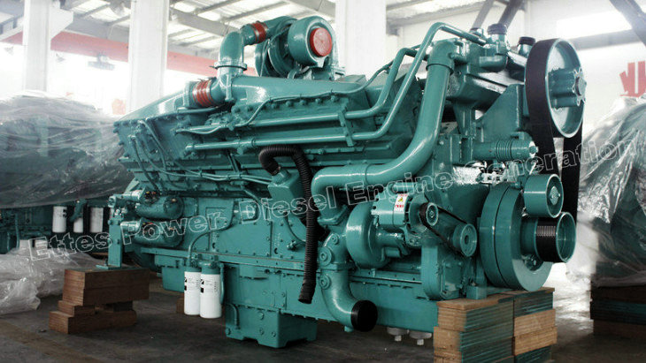 News Amp Projects Cummins 1200kw 1500kva Diesel Engine