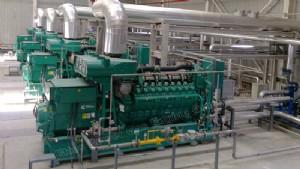 Cummins Gas Generator, Cummins gas generating set, Cummins gas power